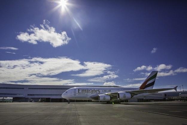 A380 w Auckland /materiały prasowe