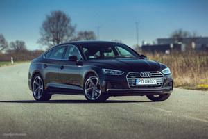 A5 Sportback.  Niemcy potrafią jednak zaprojektować ładny samochód