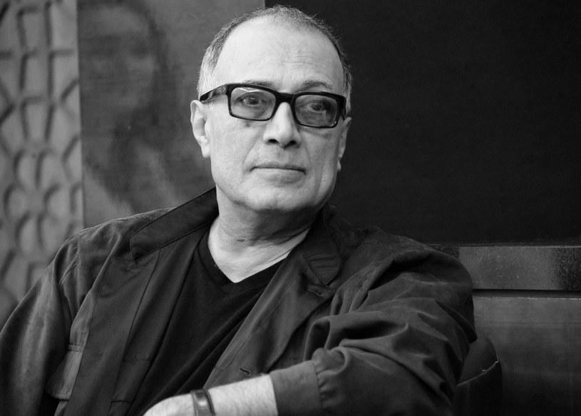 Abbas Kiarostami na festiwalu w Dubaju (2012) /AFP