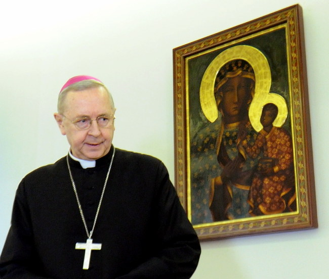 Abp Stanisław Gądecki /Grzegorz Jakubowski /PAP