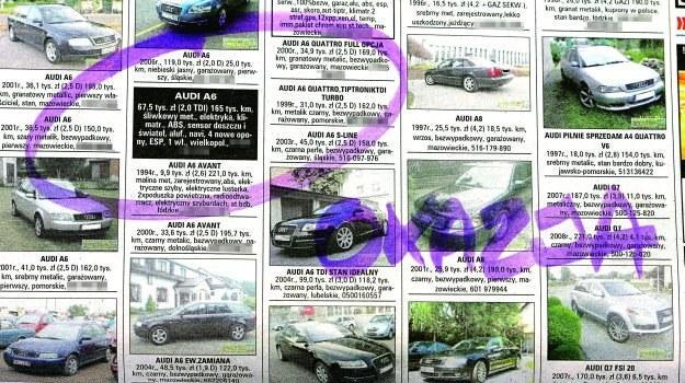 Aby przekonać się o nieprawdziwym opisie, nie trzeba oglądać osobiście każdego upatrzonego auta. /Motor