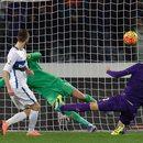 AC Fiorentina - Inter Mediolan 2-1 w 25. kolejce Serie A