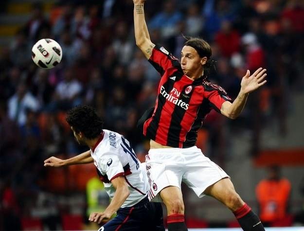 AC Milan ze Zlatanem Ibrahimovicem w składzie poważnie przeegzaminuje Real Jose Mourinho /AFP