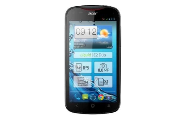 Acer Liquid E2 - komputerowy gigant wchodzi do świata smartfonów /materiały prasowe