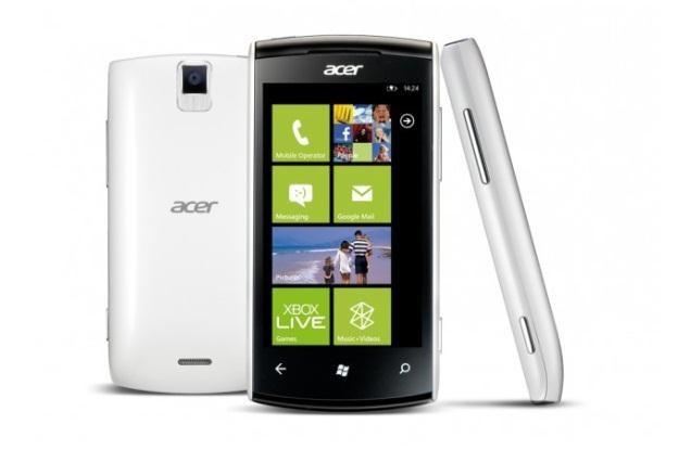 Acer W11 nowością z Windows Phone 8 /materiały prasowe