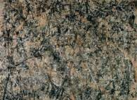 Action Painting: Jackson Pollock, Numer 1 (Lawendowa mgła), 1950 r. /Encyklopedia Internautica