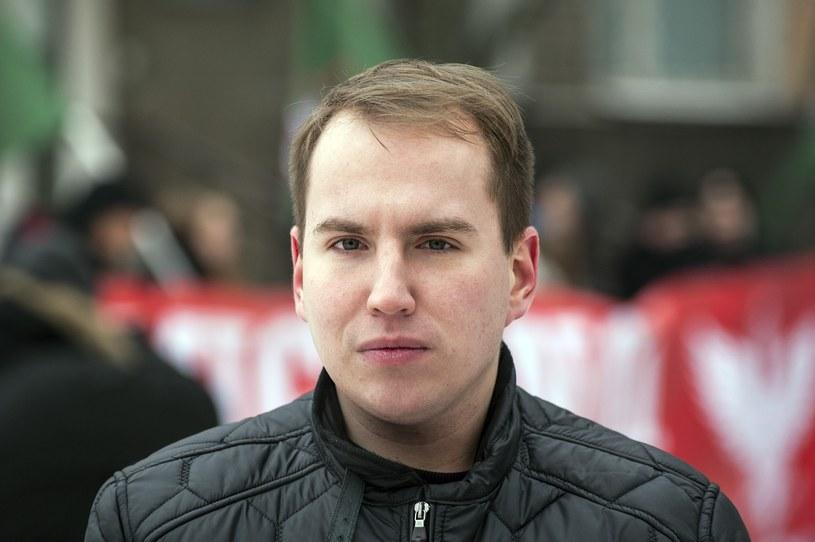 Adam Andruszkiewicz do maja 2016 był członkiem Ruchu Narodowego /Kosc/AGENCJA WSCHOD/REPORTER /Reporter