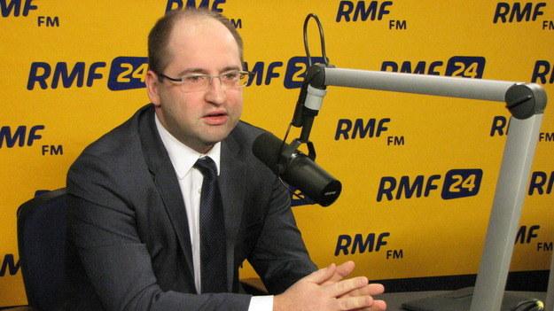 Adam Bielan apeluje do premiera Tuska /RMF