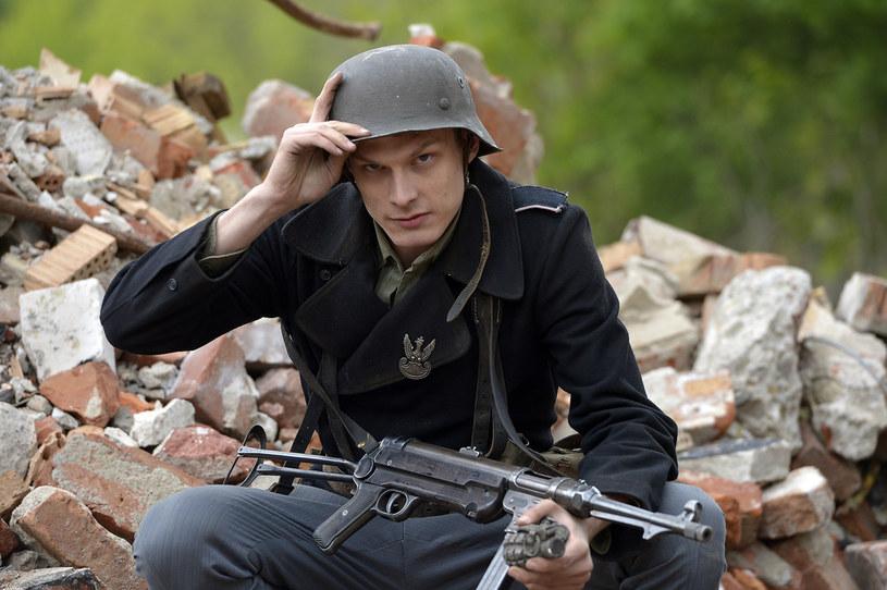"""Adam Fidusiewicz: """"Wilk"""" to prawdziwe dziecko wojny. Ma instynkt walki /Gałązka /AKPA"""