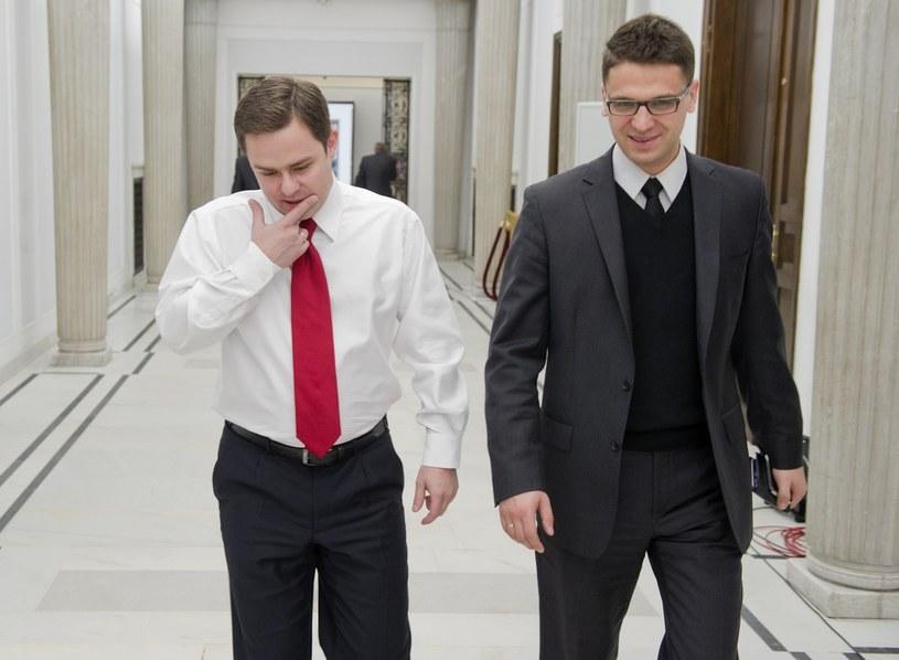 Adam Hofman i Mariusz Antoni Kamiński, fot. Piotr Bławicki/EastNews /East News