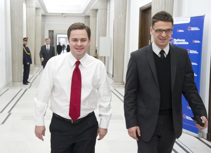 Adam Hofman i Mariusz Antoni Kamiński /Piotr Bławicki /East News