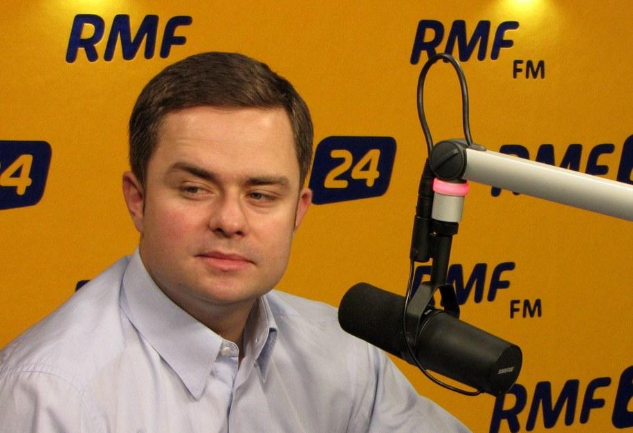 Adam Hofman /Olga Wasilewska (RMF FM) /RMF FM
