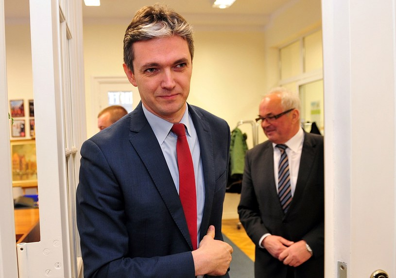 Adam Jarubas - kandydat PSL na prezydenta /Marcin Bielecki /PAP