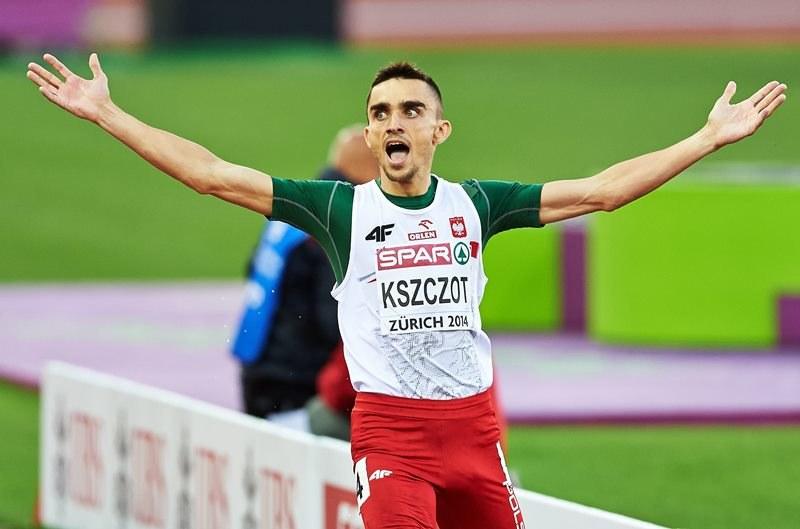 Adam Kszczot zdobył złoto mistrzostw Europy /Adam Warżawa /PAP