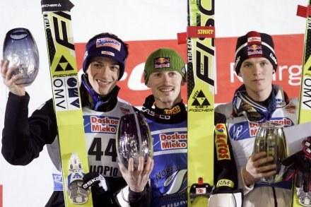 Adam Małysz odniósł 34. zwycięstwo w zawodach Pucharu Świata /AFP