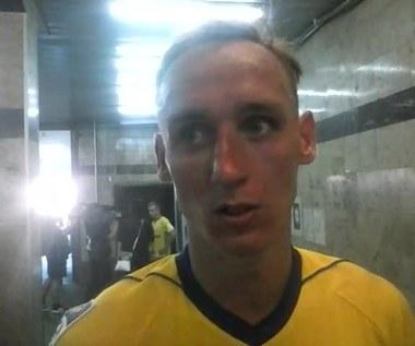 Adam Marciniak po meczu z Górnikiem Zabrze (1-1) - wideo