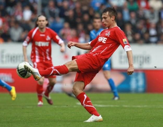 Adam Matuszczyk strzelił gole dla FC Koeln po uderzeniach lewą i prawą nogą /Getty Images/Flash Press Media