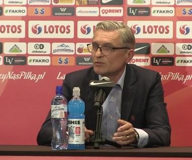 Adam Nawałka o grze obronnej kadry (wideo)