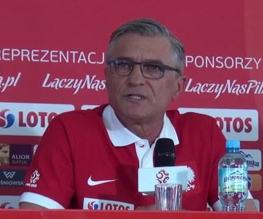 Adam Nawałka o Pawle Wszołku. Wideo