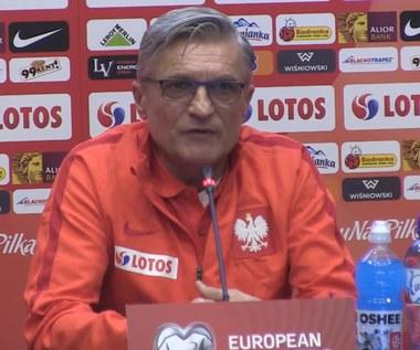 Adam Nawałka o szansach na pierwsze w historii zwycięstwo Polski nad Czarnogórą