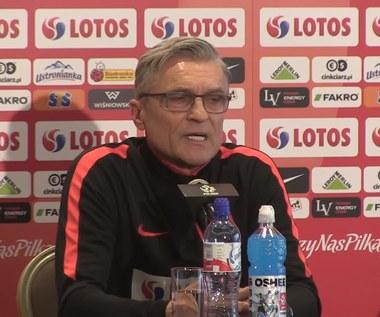 Adam Nawałka: W pełni szanuję decyzję Artura Boruca. Wideo
