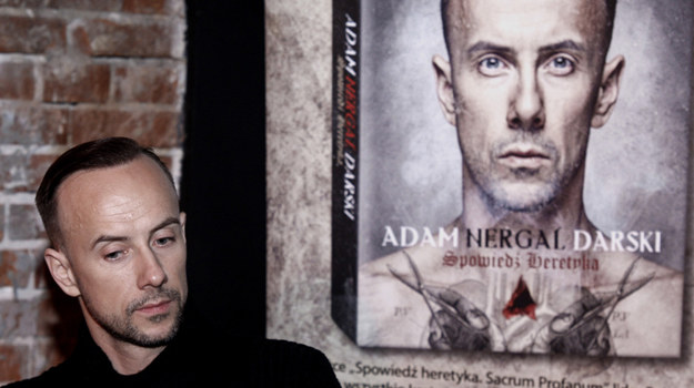 """Adam """"Nergal"""" Darski /fot  /AKPA"""