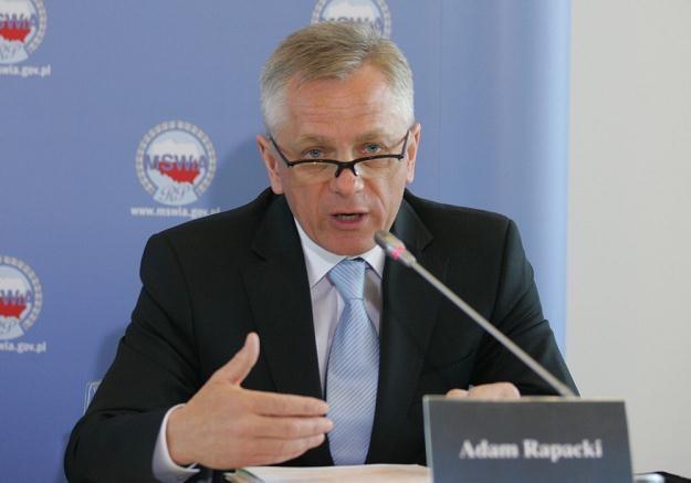 Adam Rapacki / fot. P. Kowalczyk /Agencja SE/East News
