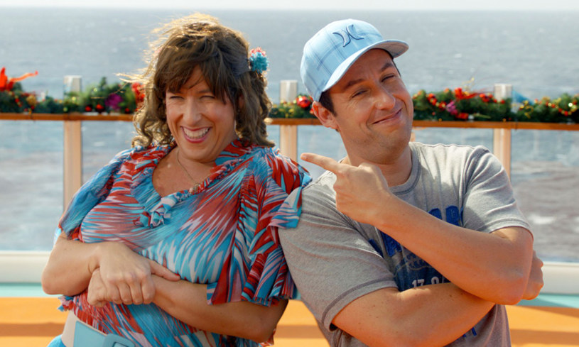 Adam Sandler jako Jack (P) i Jill (L) /Collection Christophel /East News