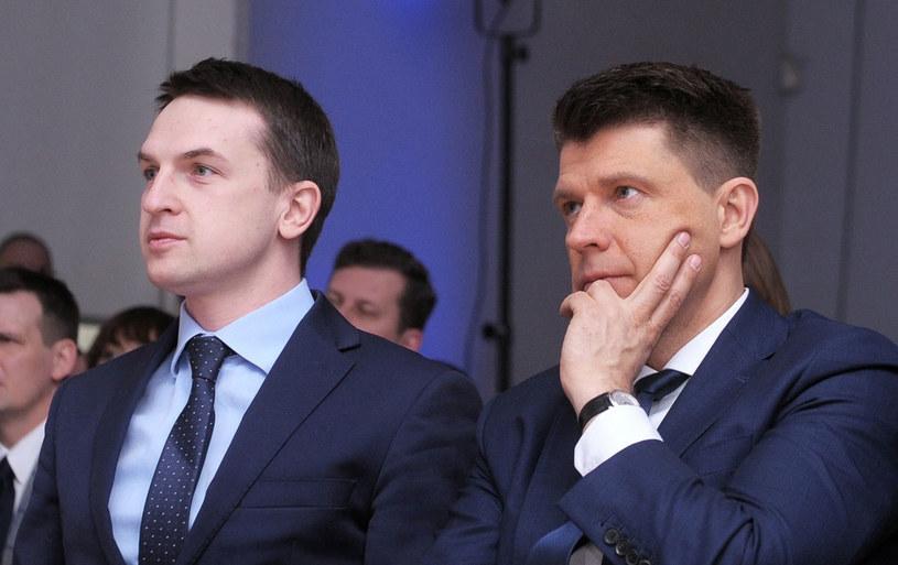 Adam Szłapka i Ryszard Petru /Jan Bielecki /East News