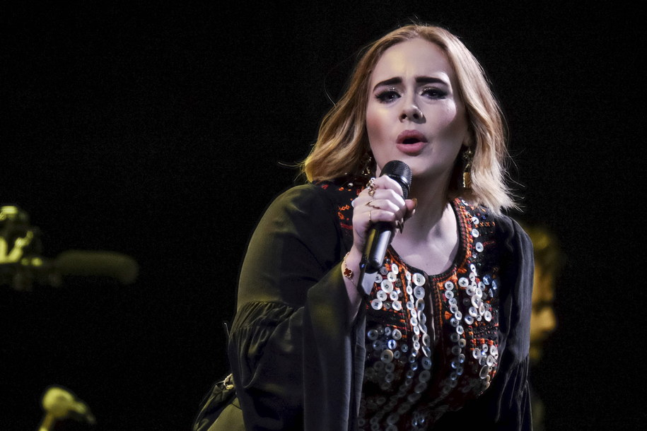 Adele /Julie Edwards   /PAP/EPA