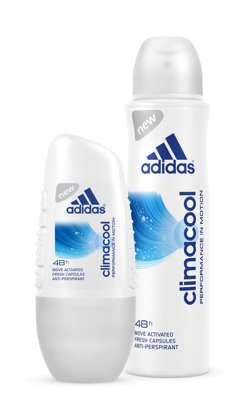Adidas: Antyperspiranty Climacool /materiały prasowe