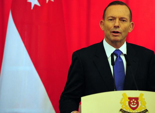 Administracja Tony'ego Abbotta już od kilku lat wprowadzać coraz bardziej restrykcyjne prawo dotyczące uchodźców /Mohd Fyrol /AFP