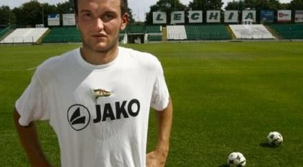 Admir Dadić może zagrać w Lechii /fot.www.lechia.pl /