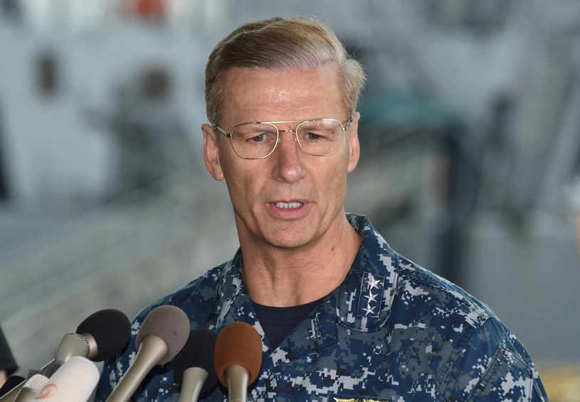 Admirał Joseph Aucoin /AFP