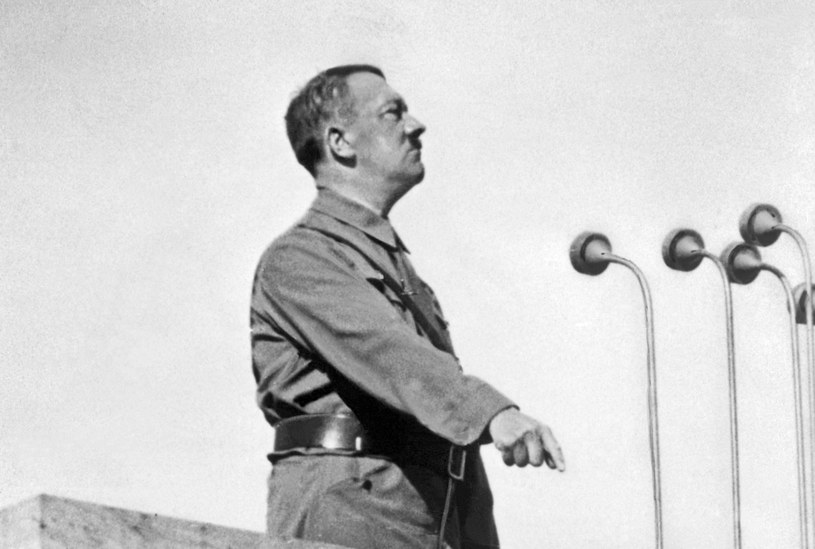 Adolf Hitler na zdjęciu z 1937 roku /AFP /AFP