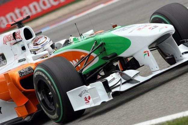 Adrian Sutil zostaje w Force India /AFP