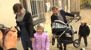 Adrian Zandberg pokazał żonę i dzieci