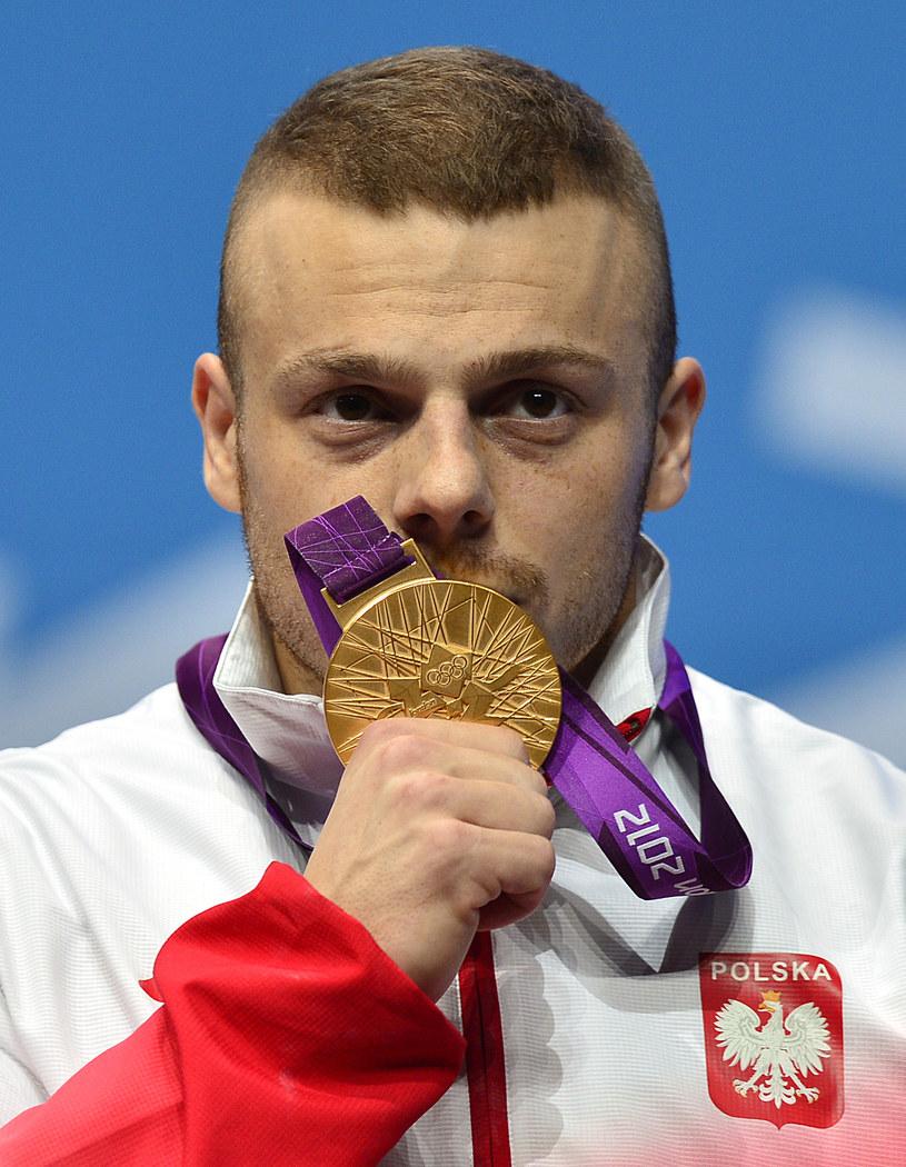 Adrian Zieliński - nasz faworyt w walce o medale MŚ /AFP