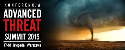 Advanced Threat Summit 2015 /materiał zewnętrzny