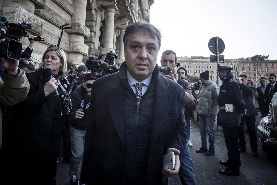 Adwokat Filippo Dinacci /ANGELO CARCONI /PAP/EPA