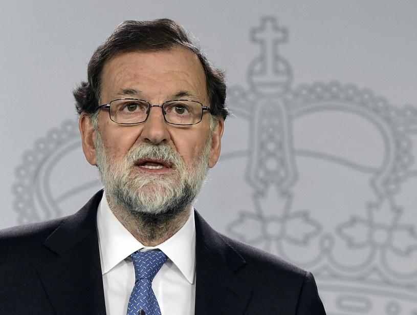 Afera ma kilka odgałęzień, które wiodą m. in. do premiera Mariano Rajoya /JAVIER SORIANO /AFP
