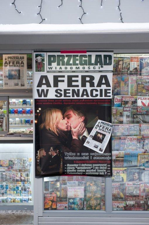 Afera w Senacie /TVN