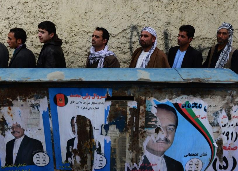 """""""Afgańczycy poszli do urn z odwagą i poczuciem obowiązku"""" /AFP"""