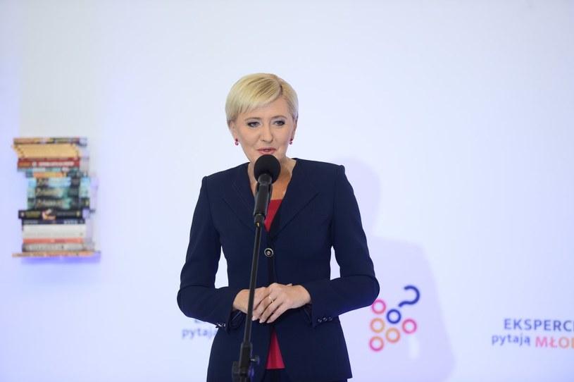 Agata Duda - jedna z najlepiej ubranych Polek /Jarosław Antoniak / MWMedia /MWMedia