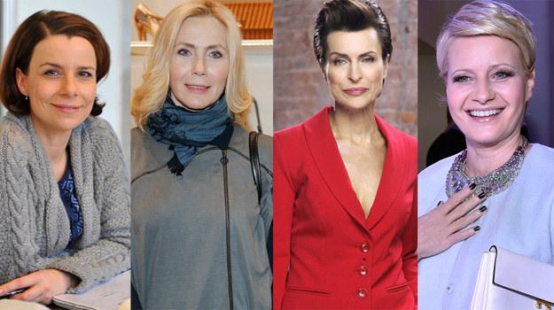 Agata Kulesza, Agnieszka Wosińska, Danuta Stenka i Małgorzata Kożuchowska obecnie /Gałązka, Podlewski, Kurnikowski /AKPA