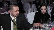 Agata Kulesza z mężem. Piękna para!