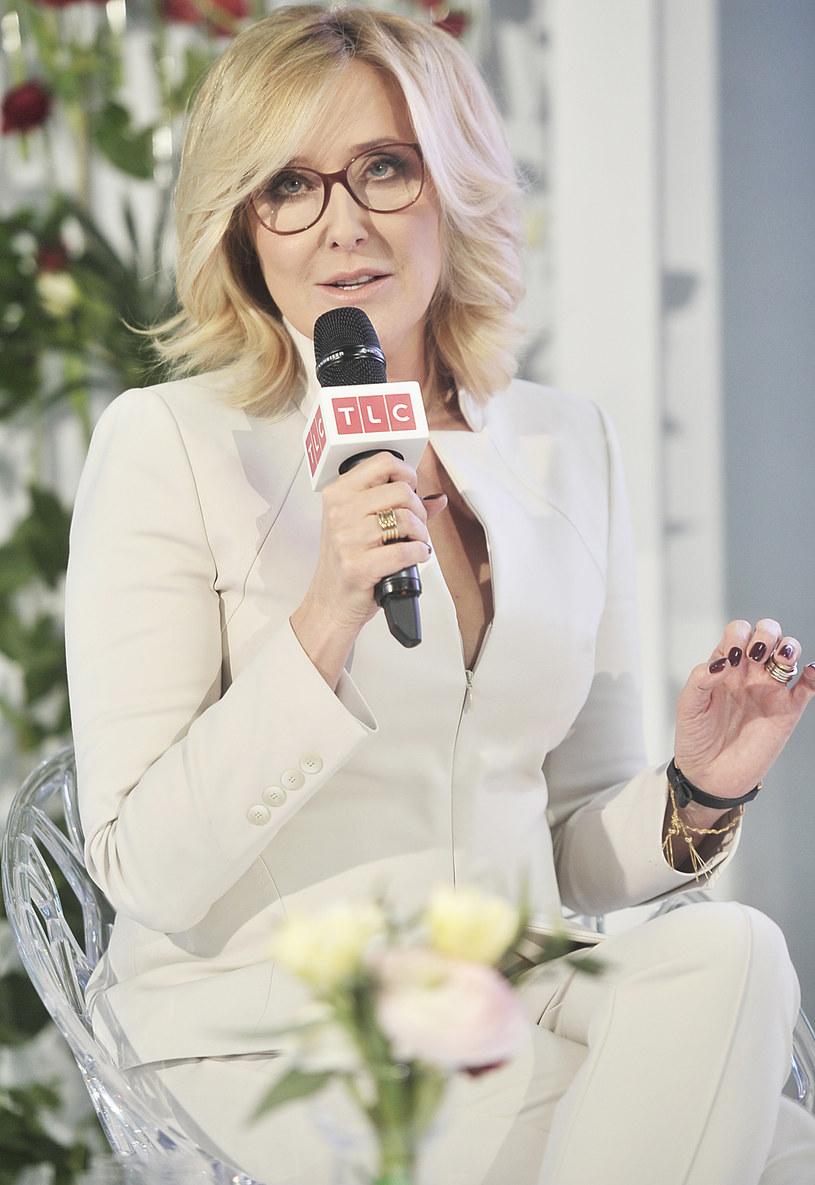 Agata Młynarska bardzo poważnie podchodzi do swojej nowej roli w telewizji TLC /Niemiec /AKPA