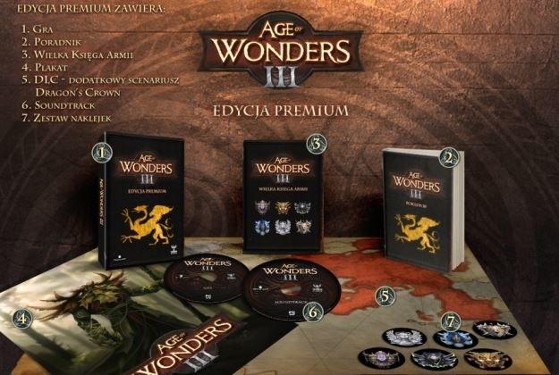Age of Wonders III - edycja premium /materiały prasowe