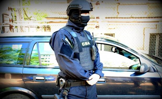 Agenci CBA zatrzymali 8 osób. Wśród nich jest były prokurator