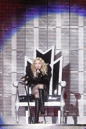 Agnieszka Chylińska nigdy nie kryła, że jej idolką jest królowa popu, Madonna /  /AKPA